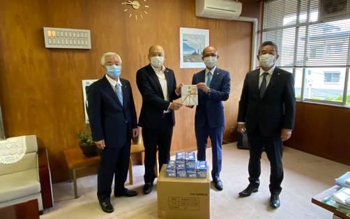 新型コロナウイルス対策事業(交野ロータリークラブ)