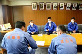 令和2年7月豪雨被害を受けられた 大分県・日田市へ支援物資の寄贈