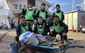 長野市へ災害ボランティアに