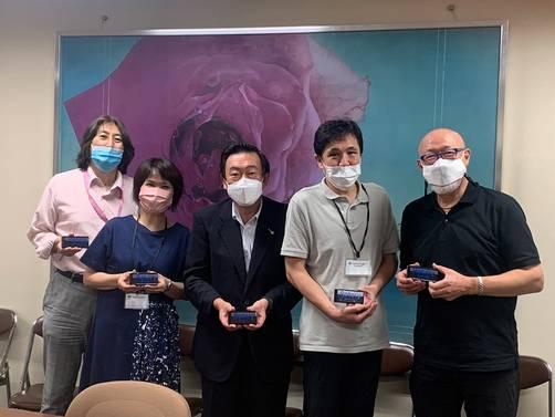 大阪府茨木保健所へ携帯電話貸与(茨木RC)