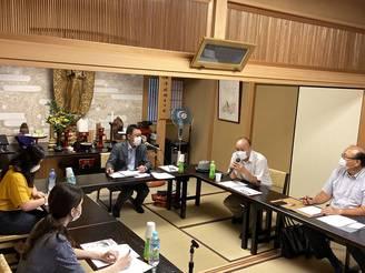 コロナ禍における留学生の方々の現在の状況等の聞取り及び意見交換(高槻東RC)